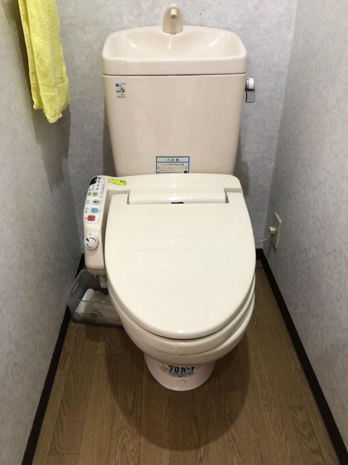 八尾市 トイレ入れ替え工事