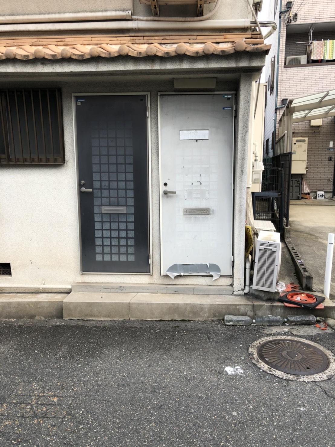 東大阪市 マンション玄関ドア入れ替え